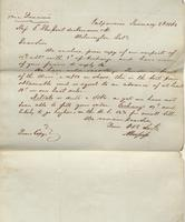 Correspondence, Alsop and Company to E. I. du Pont de Nemours and Company, 1862-01-02