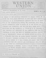 American Committee on United Europe to John J. Raskob, 1949-03-14
