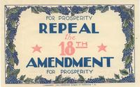 For Prosperity Repeal the 18th Amendment