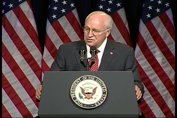 NADA Washington Conference, 2006: Dick Cheney remarks