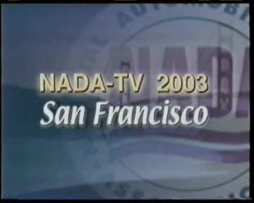 NADA TV: San Francisco convention, February 3, 2003