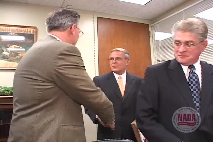 Washington Insider: North Dakota dealers meet with Senator Kent Conrad, 2005