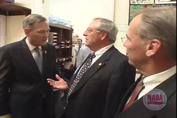 Washington Insider: Kansas dealers meet with Representative Dennis Moore, 2005