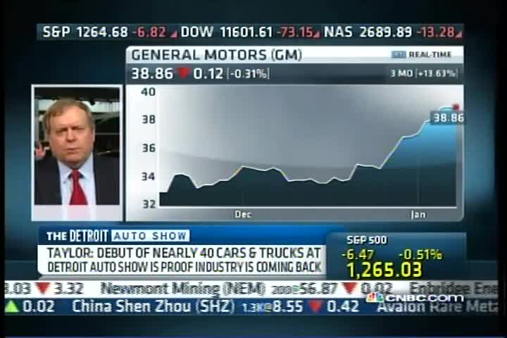 """Paul Taylor"": Squawk on the Street: CNBC: 10-JAN-11 9:00-10:00 AM"