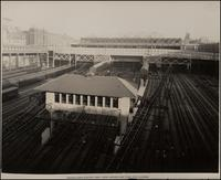 Pennsylvania Station Yard: View Looking East from Ninth Avenue
