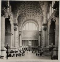 Pennsylvania Station: Main Waiting Room - Looking North