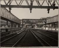 Pennsylvania Station: Yard and Equipment, Looking West from Post Office