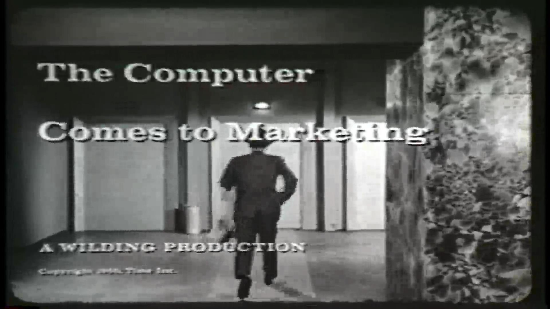 The Computer Comes to Marketing
