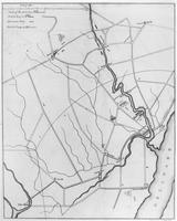 Map of Wilmington defenses during the War of 1812