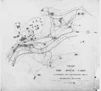 Map of the Upper Yard of the E.I. Dupont Co's Brandywine Mills near Wilmington, Delaware