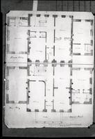 Eleutherian Mills Residence First and Second Floor Plans