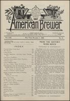 The American Brewer, vol. 61, no. 11 (1928)