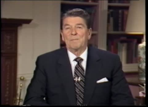 A message from President Ronald Reagan to the 68th annual NADA convention in San Francisco, California
