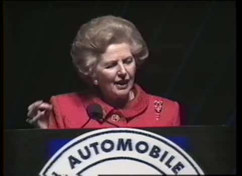 NADA Convention: Margaret Thatcher speech, February 9, 1993