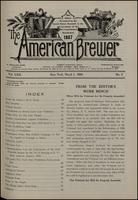 The American Brewer vol. 62, no. 03 (1929)