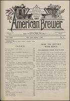 The American Brewer vol. 63, no. 10 (1930)