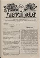 The American Brewer vol. 63, no. 11 (1930)