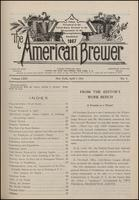The American Brewer vol. 64, no. 04 (1931)