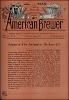 The American Brewer vol. 69, no. 08 (1936)