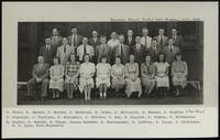 Polymer Group portraits, DuPont Laboratory, Buffalo, New York, 1948