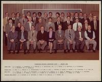 Pioneering Research Laboratory staff group portraits