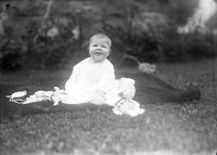 Thomas C. Marshall, Jr., as an infant