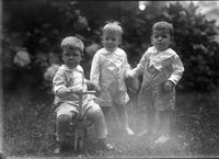 "Thomas C Marshall, Jr and ""The Twins,"" Robert and Alan Mancill"