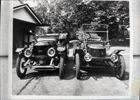 1913 Stanley Touring Model 76 and a 1912 Stanley Touring Model 63