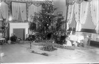 Thomas C. Marshall, Jr. as a child with Christmas Tree