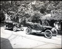 1912 Stanley Touring Model 63 and 1913 Model 76 at Auburn Heights