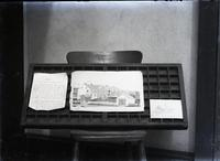 "Display of ""The Story of Kennet"" manuscript and drawing of West Chester Fire Engine building"