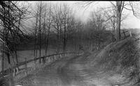 Creek Road, north of Auburn Heights, looking toward Kennett Square, Pennsylvania