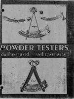Powder Testers du Pont used...and gave away!