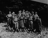 """Powder girls"" of the Ballistite Section at DuPont Co. Brandywine Mills"