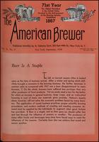 The American Brewer vol. 71, no. 09 (1938)