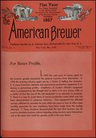 The American Brewer vol. 71, no. 05 (1938)