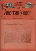 The American Brewer vol. 71, no. 11 (1938)