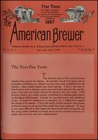 The American Brewer vol. 71, no. 04 (1938)