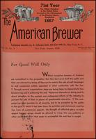 The American Brewer vol. 71, no. 08 (1938)