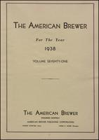 The American Brewer vol. 71, no. 01 (1938)
