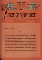 The American Brewer vol. 72, no. 02 (1939)