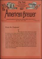 The American Brewer vol. 71, no. 03 (1938)