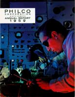 Philco Corporation Sixty-Eighth Annual Report 1959