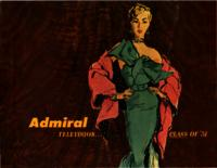 Admiral Television...Class of '51