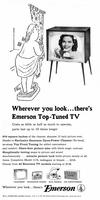 Wherever you look...there's Emerson Top-Tuned TV
