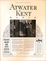 If father's gift is Atwater Kent radio