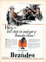 Hey - let's chip in and get a Brandes horn
