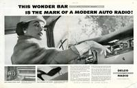This wonder bar is the mark of a modern auto radio!
