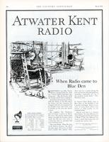 When radio came to Blue Den