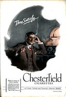 They satisfy. Chesterfield Cigarettes